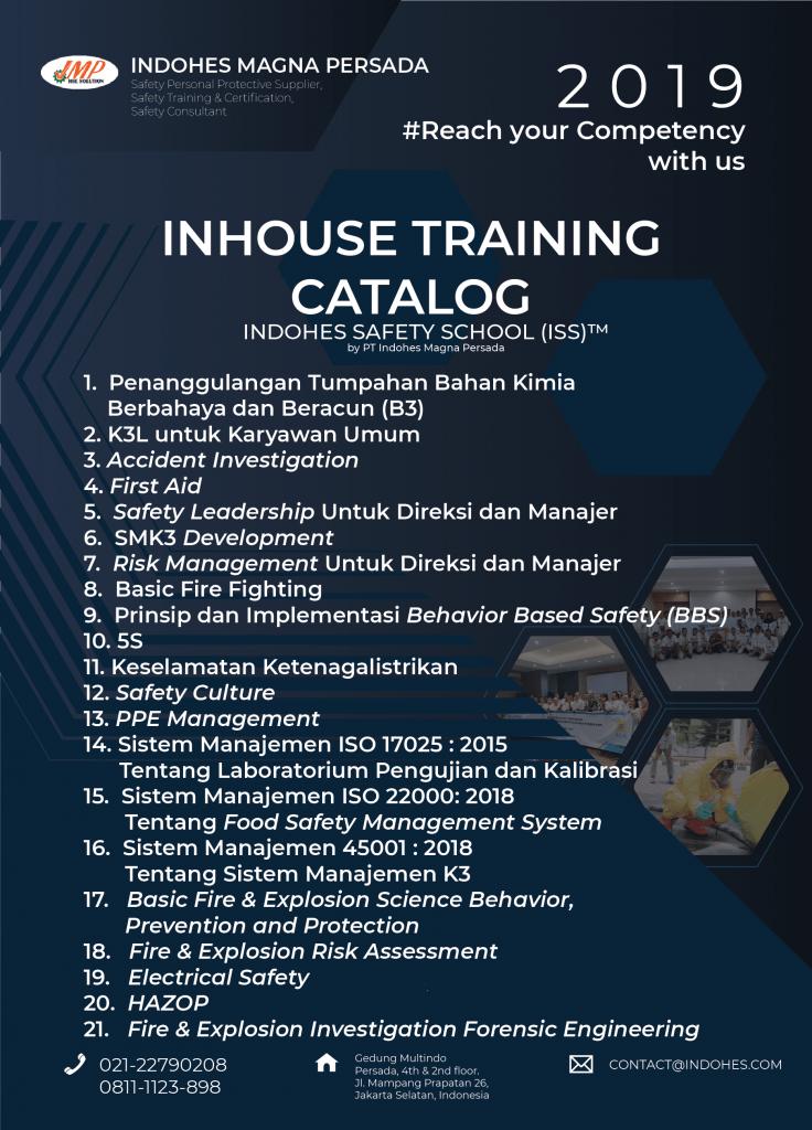Inhouse Training / Pelatihan K3 Private Perusahaan