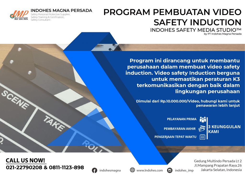 Pembuatan Video Safety Induction