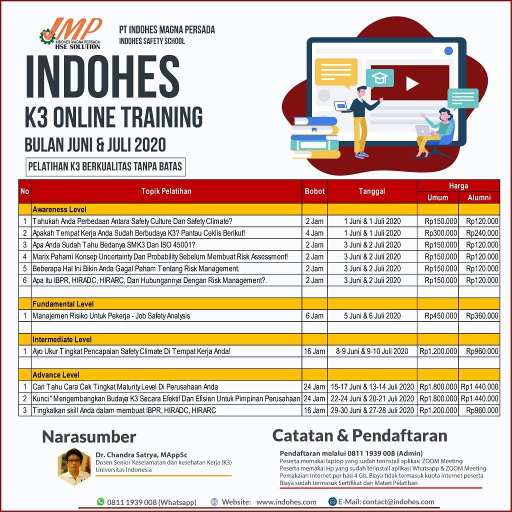Online Training K3