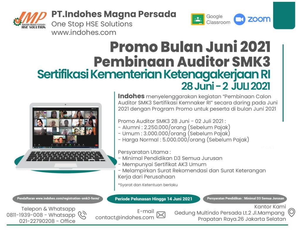 promo auditor SMK3 juni 2021