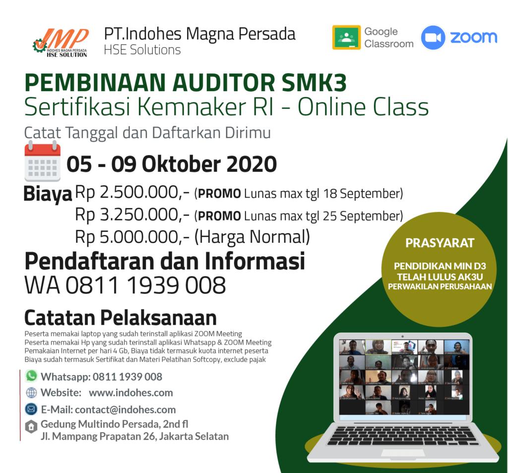 Sertifikasi Auditor SMK3