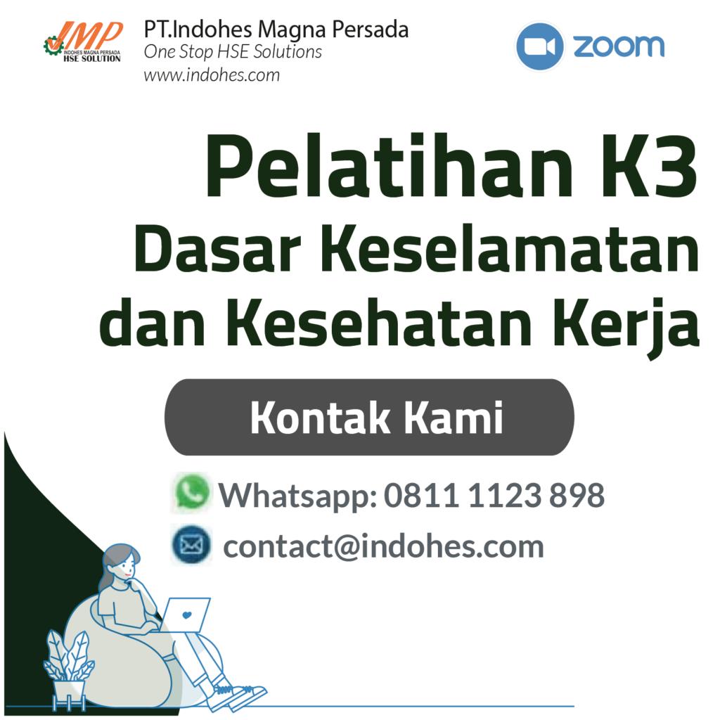 Pelatihan Dasar K3, pelatihan keselamatan dan kesehatan kerja, pelatihan k3