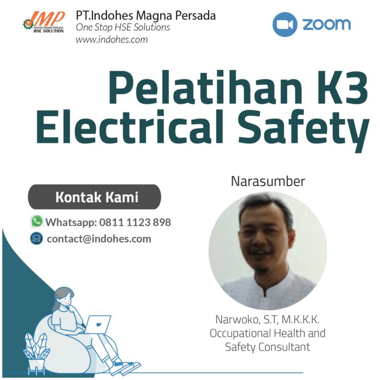 Pelatihan electrical safety, pelatihan keselamatan dan kesehatan kerja, pelatihan k3