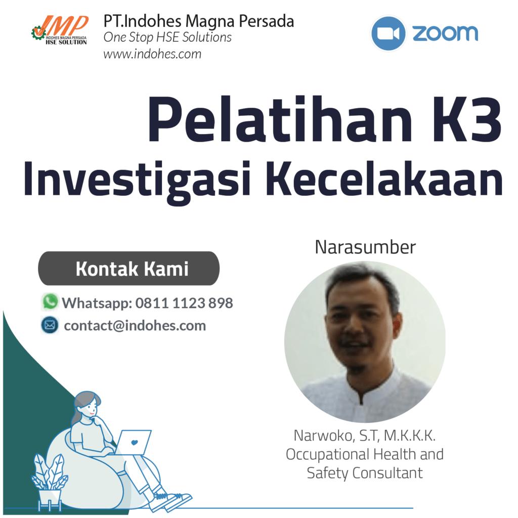 Investigasi Kecelakaan, pelatihan keselamatan dan kesehatan kerja, pelatihan k3