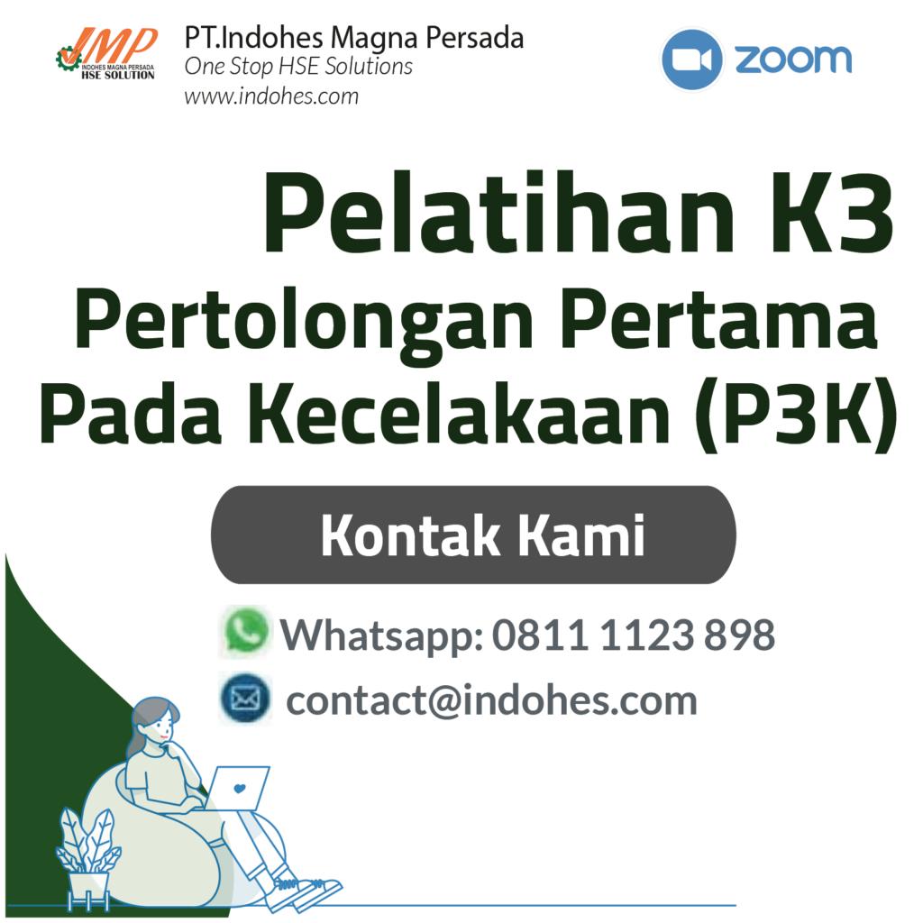 Pelatihan P3k, pelatihan keselamatan dan kesehatan kerja, pelatihan k3