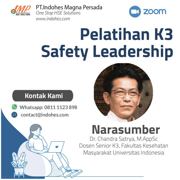 Pelatihan Safety leadership, pelatihan keselamatan dan kesehatan kerja, pelatihan k3